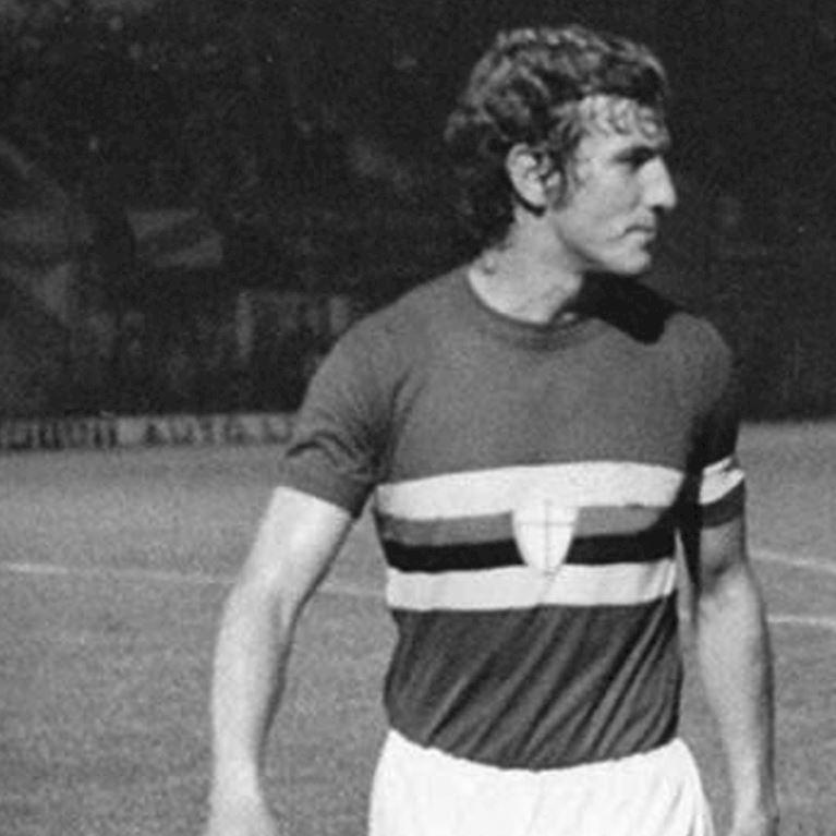 151 | U. C. Sampdoria 1975 - 76 Maillot de Foot Rétro | 2 | COPA