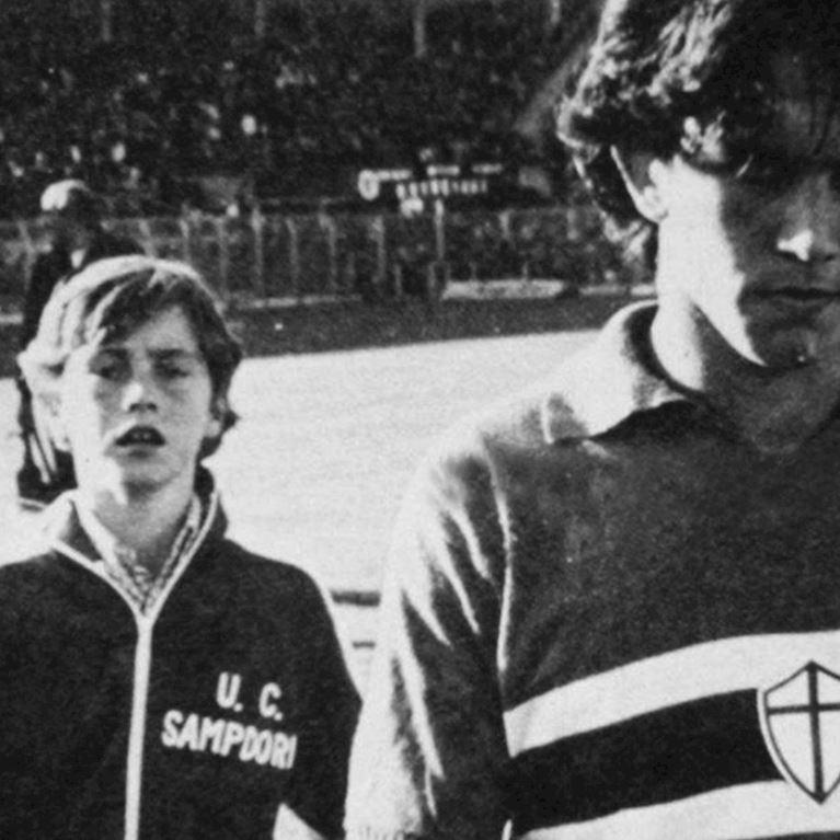 915 | U. C. Sampdoria 1979 - 80 Veste de Foot Rétro | 2 | COPA