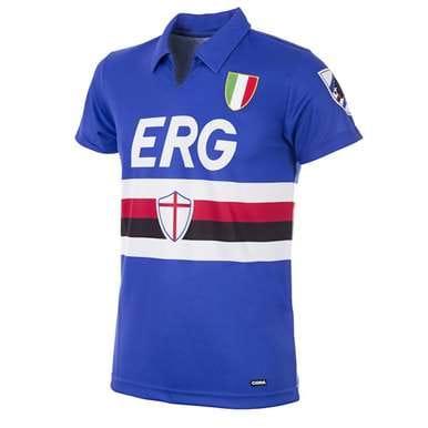 153 | U. C. Sampdoria 1991 - 92 Retro Football Shirt | 1 | COPA