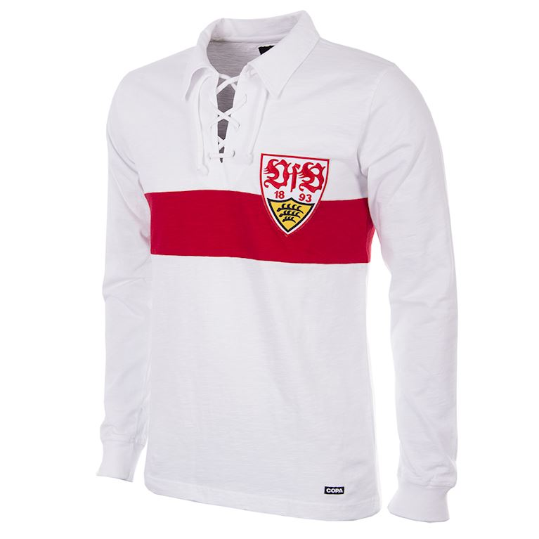 138 | VfB Stuttgart 1958 - 59 Retro Football Shirt | 1 | COPA