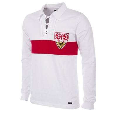 138 | VfB Stuttgart 1958 - 59 Retro Football Shirt | 1 | COPA