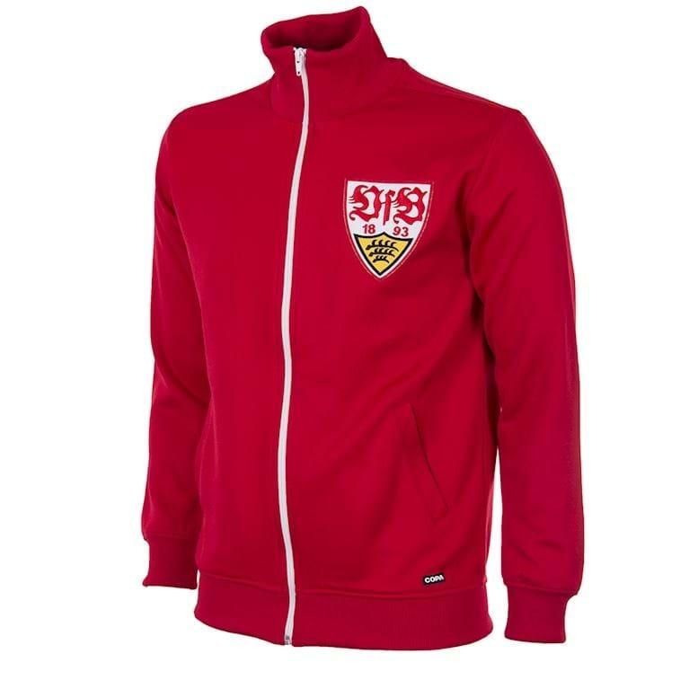 899   VfB Stuttgart 1970´s Retro Football Jacket   1   COPA