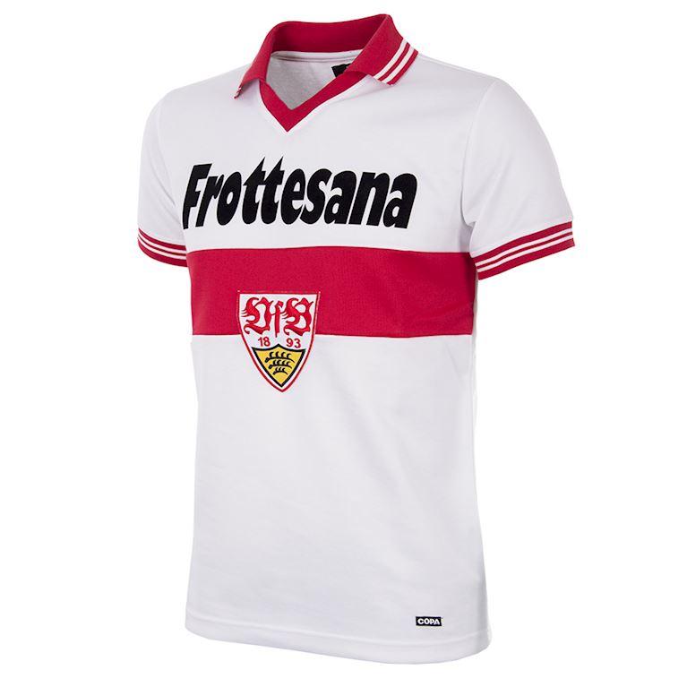 139 | VfB Stuttgart 1977 - 78 Retro Voetbal Shirt | 1 | COPA