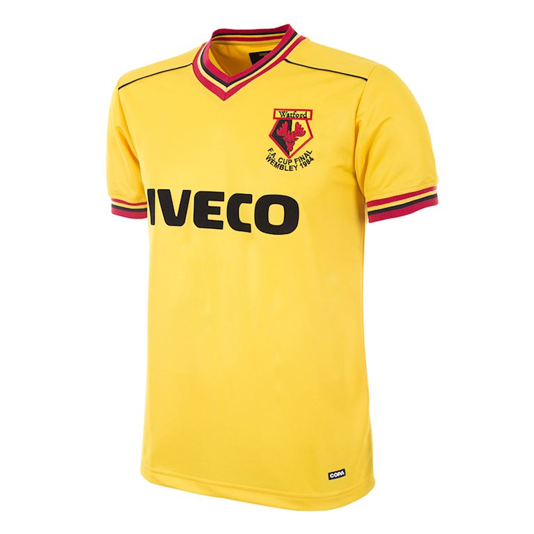 193 | Watford FC 1983 - 84 Retro Football Shirt | 1 | COPA
