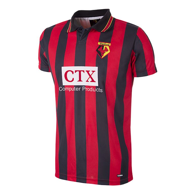 195 | Watford FC 1997 - 98 Away Retro Football Shirt | 1 | COPA