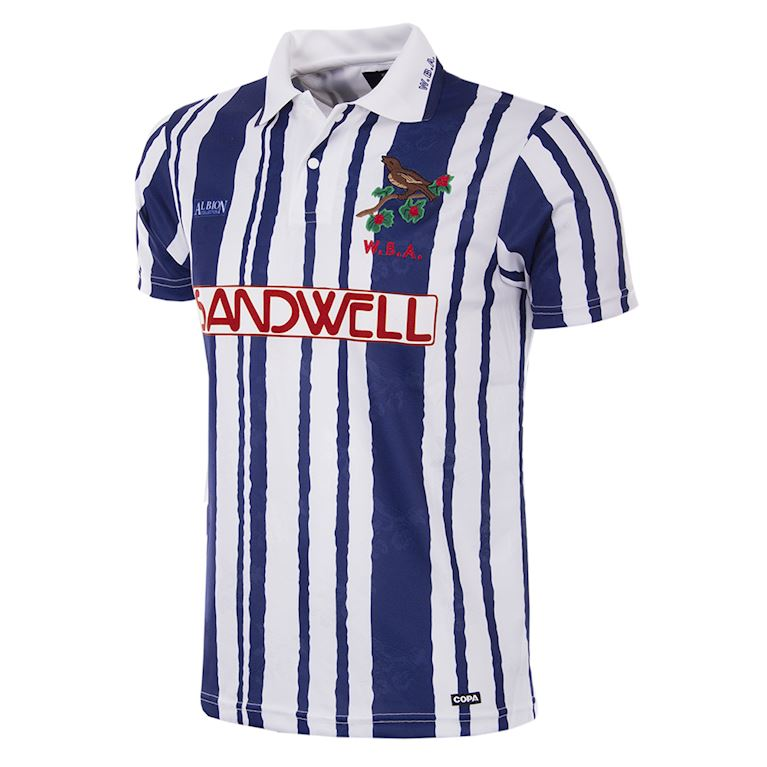 142 | West Bromwich Albion 1992 - 93 Short Sleeve Retro Football Shirt | 1 | COPA