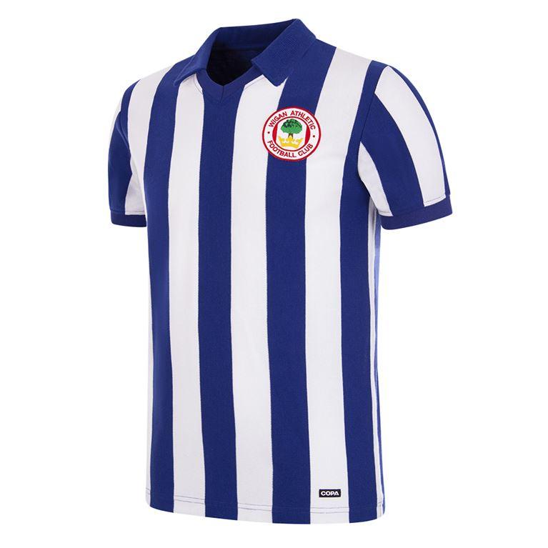 375 | Wigan Athletic FC 1980 - 81 Retro Football Shirt | 1 | COPA