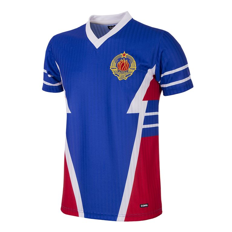 234 | Yugoslavia 1990 Short Sleeve Retro Football Shirt | 1 | COPA