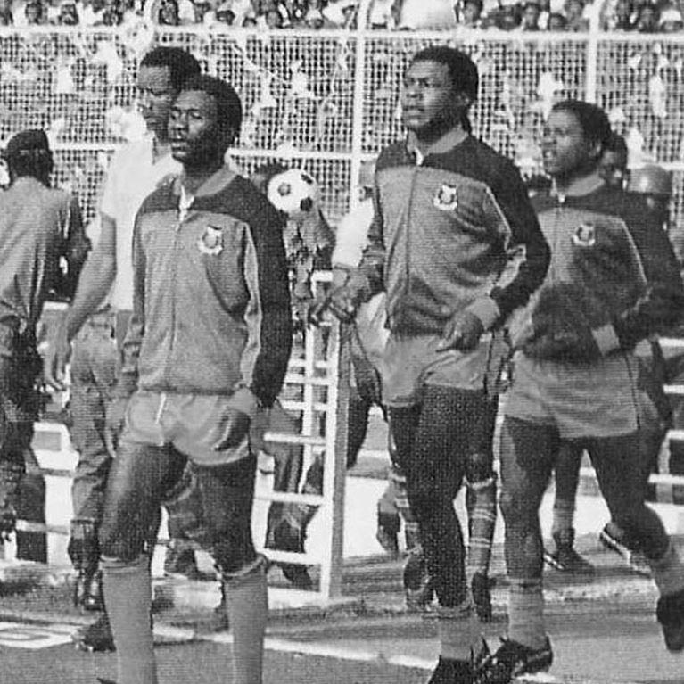 839 | Zambia 1980's Retro Football Jacket | 2 | COPA