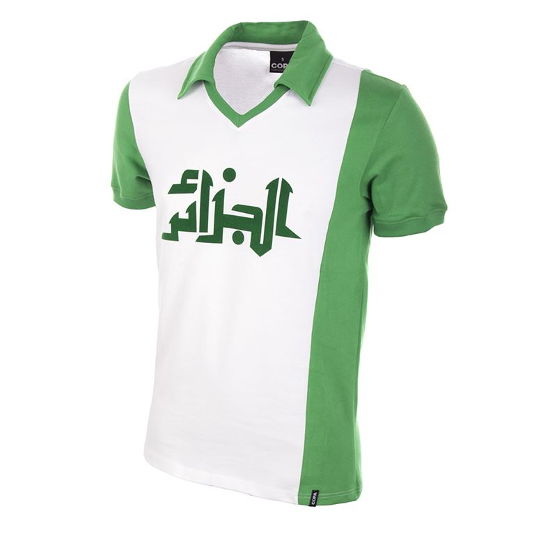 531 | Algeria World Cup 1982 Short Sleeve Retro Football Shirt | 1 | COPA