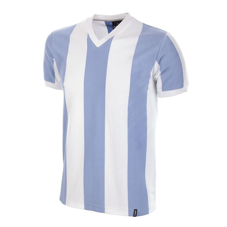 588 | Argentina 1960's Short Sleeve Retro Football Shirt | 1 | COPA