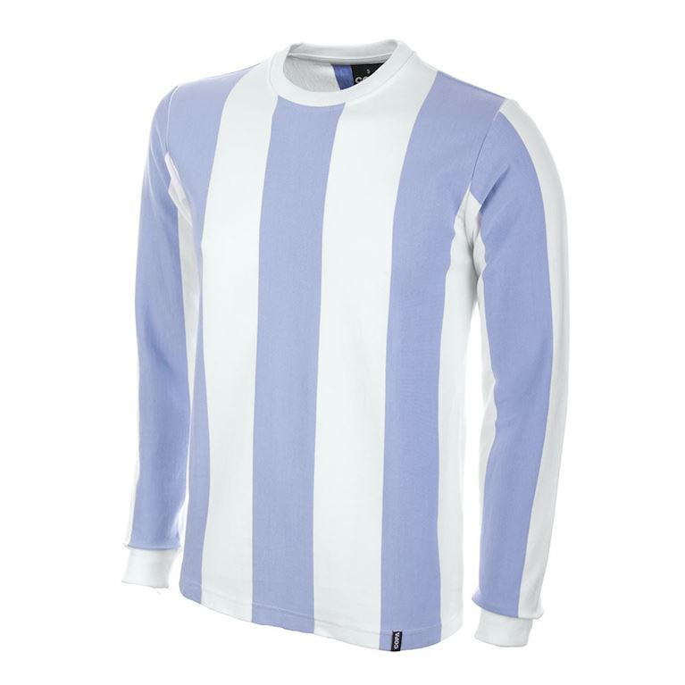 589 | Argentina 1970's Long Sleeve Retro Football Shirt | 1 | COPA