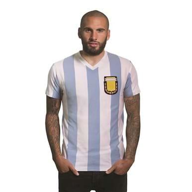 6745 | Argentina 1982 V-neck T-Shirt | 1 | COPA