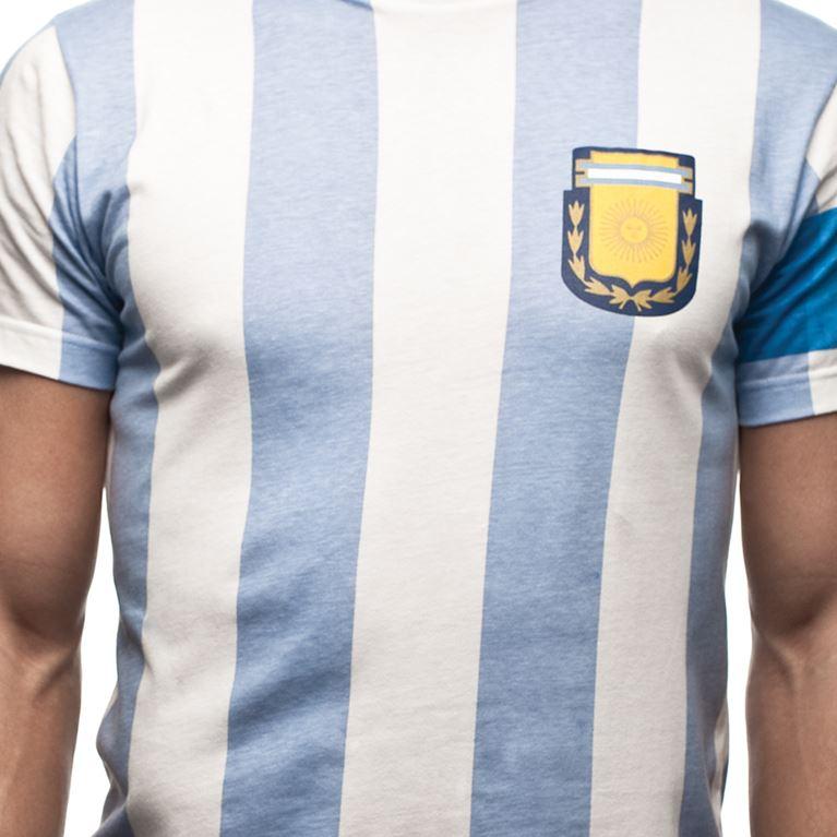 6543 | Argentina Capitano T-Shirt | White | 2 | COPA