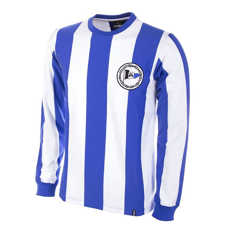 796 | Arminia Bielefeld 1970's Long Sleeve Retro Football Shirt  | 1 | COPA