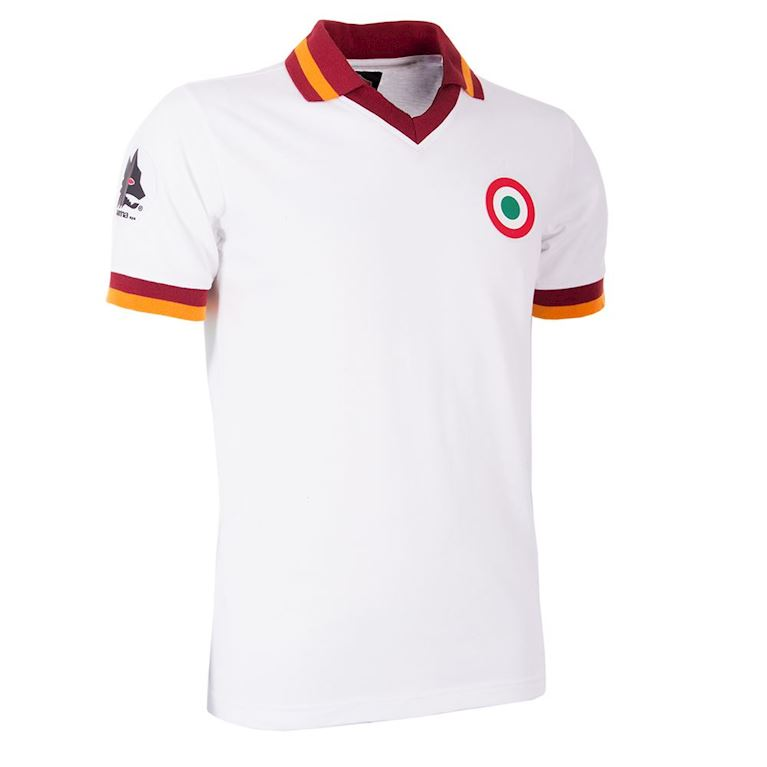 706 | AS Roma Away 1980-81 Short Sleeve Retro Football Shirt | 2 | COPA