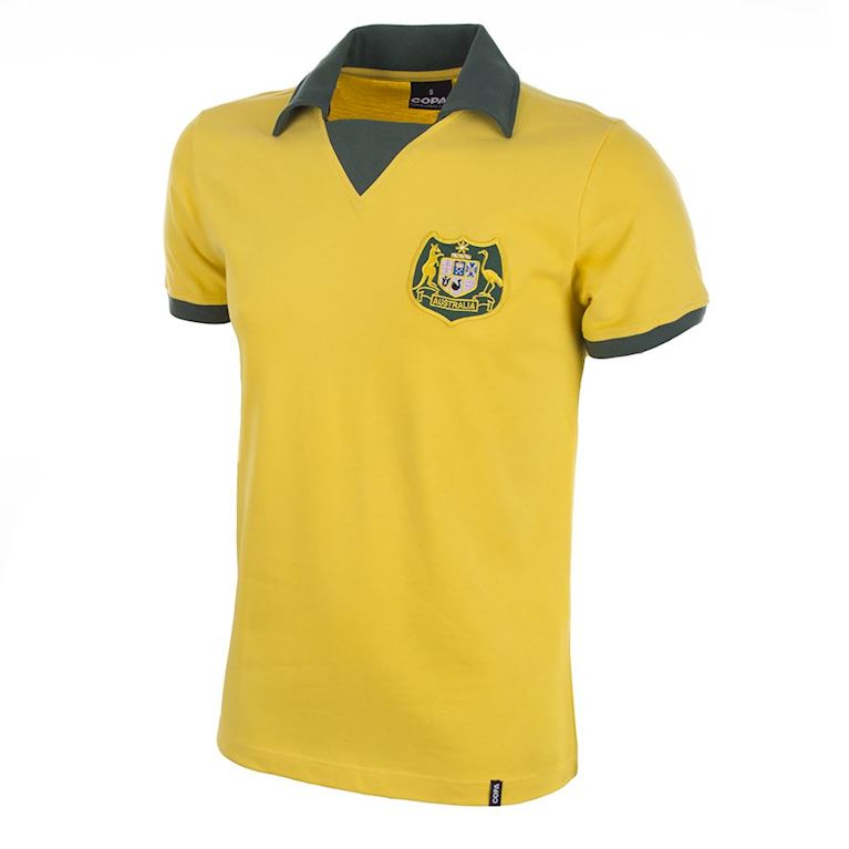 676 | Australia World Cup 1974 Short Sleeve Retro Football Shirt | 1 | COPA