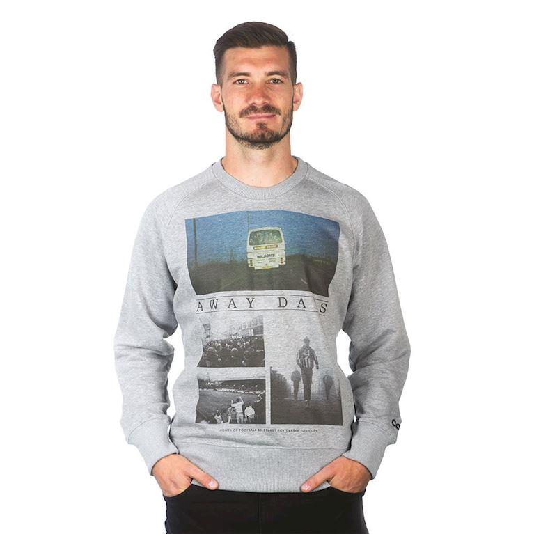 6449 | Away Days Sweater | Grey Mêlée | 1 | COPA
