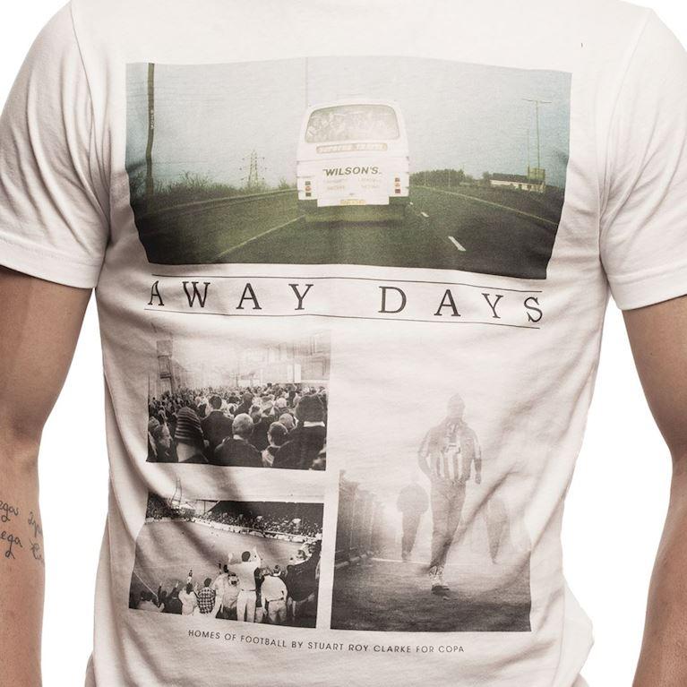 6632 | Away Days T-Shirt | White | 2 | COPA
