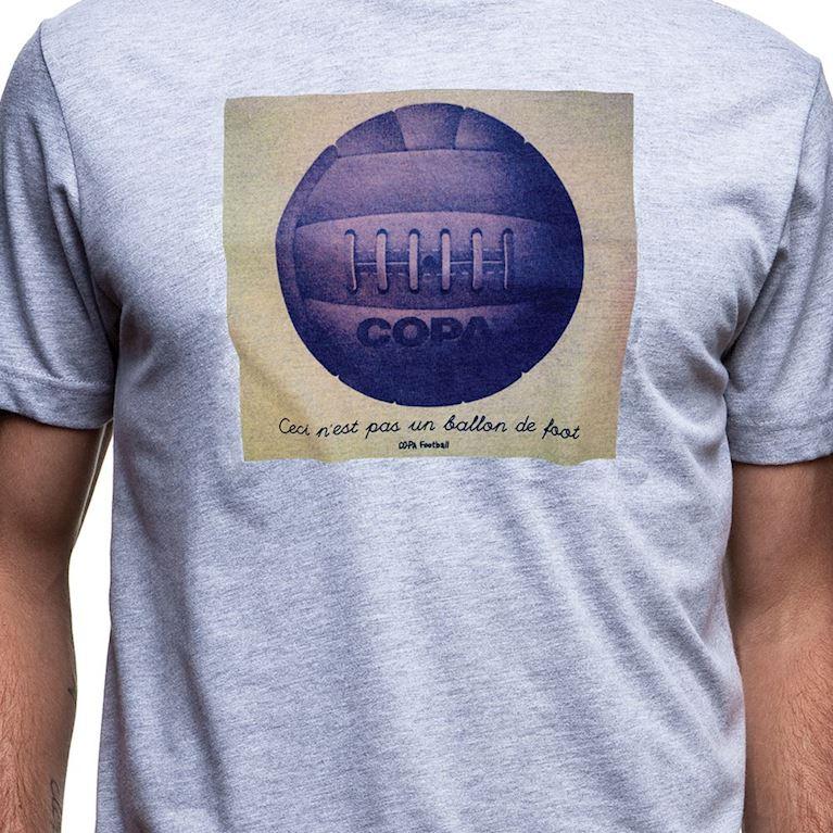 6557 | Ballon de Foot T-Shirt | Grey Mêlée | 2 | COPA