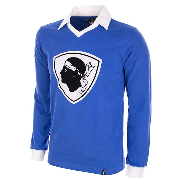 771 | Bastia 1977 / 1978 Long Sleeve Retro Football Shirt | 1 | COPA