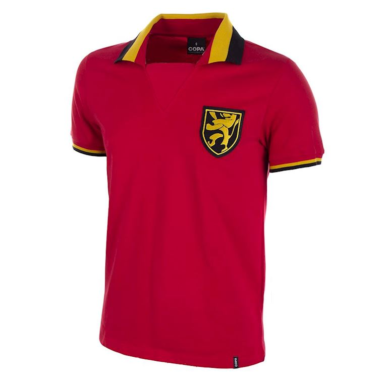 653 | Belgium 1960's Retro Football Shirt | 1 | COPA