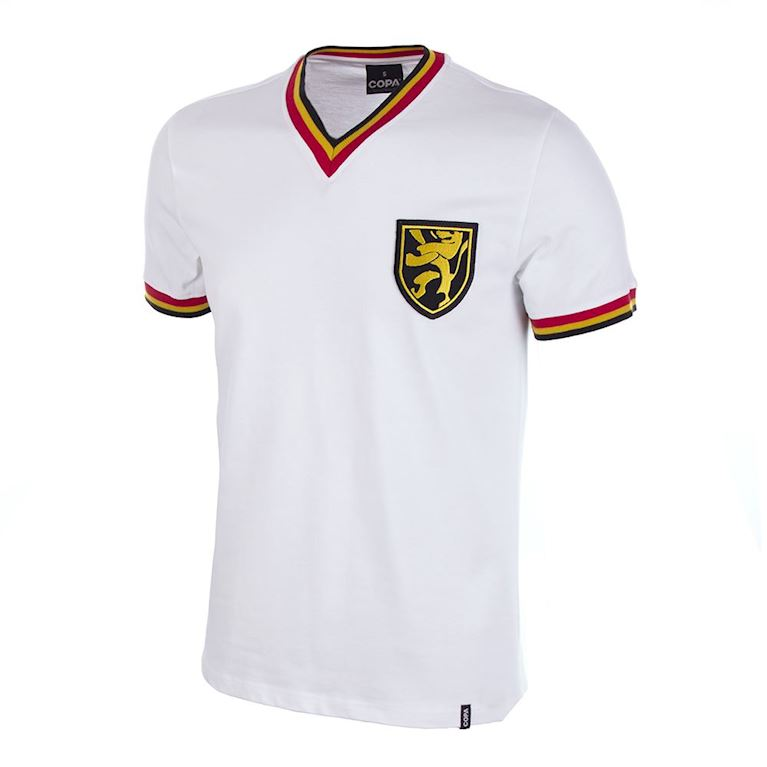 655 | Belgium Away 1970's Retro Football Shirt | 1 | COPA