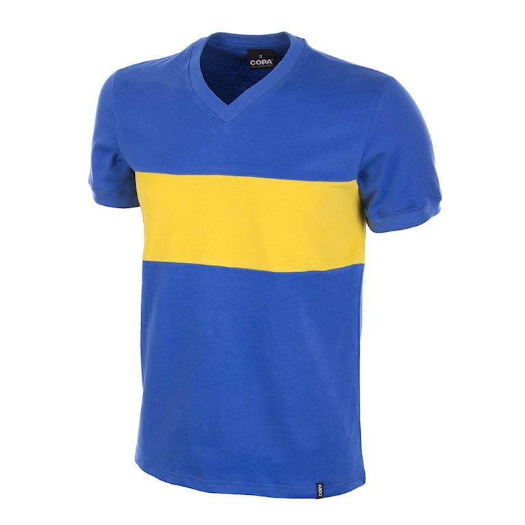 587 | Boca Juniors 1960's Short Sleeve Retro Football Shirt  | 1 | COPA