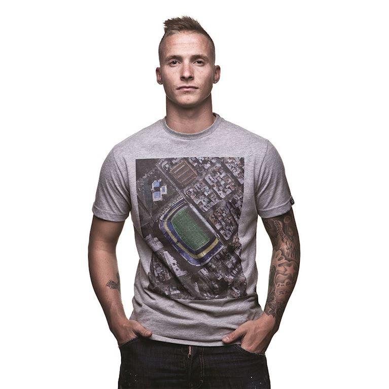 6581 | Bombonera Sky View T-Shirt | Grey Mêlée | 1 | COPA