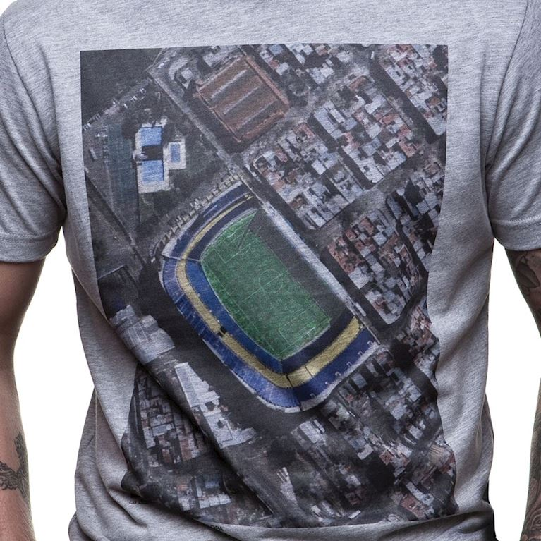 6581 | Bombonera Sky View T-Shirt | Grey Mêlée | 2 | COPA