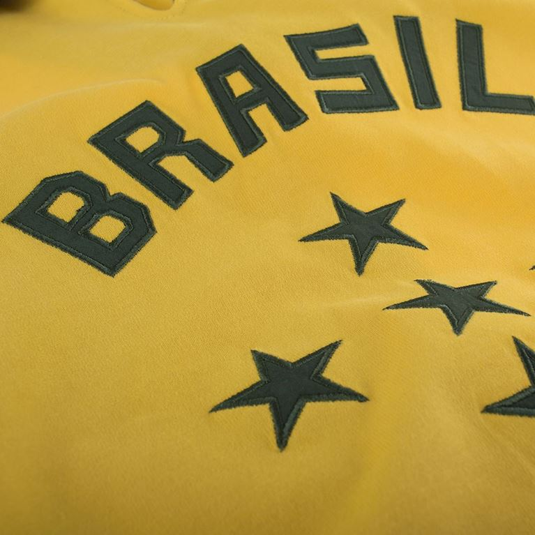 412 | Brazil 1960's Short Sleeve Retro Football Shirt  | 2 | COPA