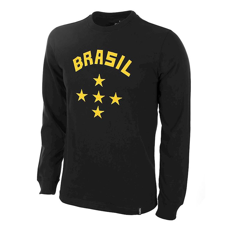 453 | Brazil Keeper 1960's Long Sleeve Retro Football Shirt | 1 | COPA
