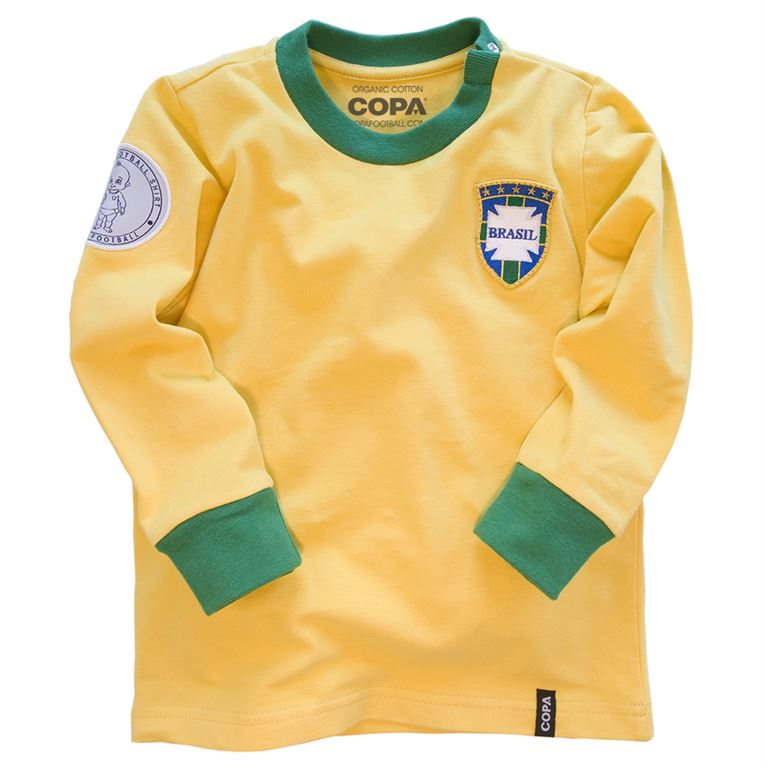6805 | Brazil 'My First Football Shirt' Long Sleeve | 1 | COPA