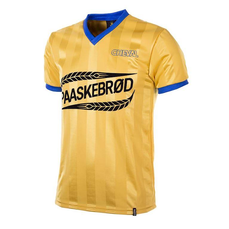 764 | Brøndby IF 1980's Short Sleeve Retro Football Shirt | 1 | COPA
