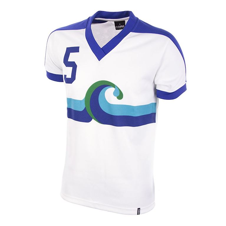 414 | California Surf Away 1980 Retro Football Shirt | 1 | COPA