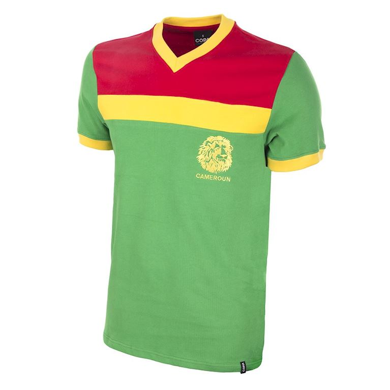 448 | Cameroon 1989 Short Sleeve Retro Football Shirt | 1 | COPA