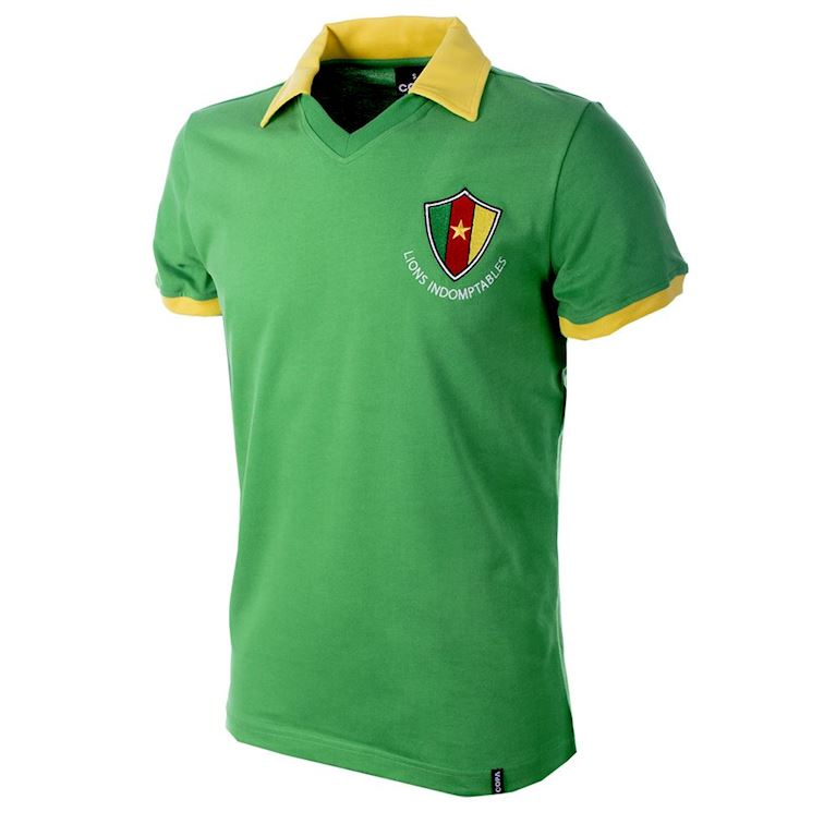 683 | Cameroon World Cup 1982 Short Sleeve Retro Football Shirt | 1 | COPA