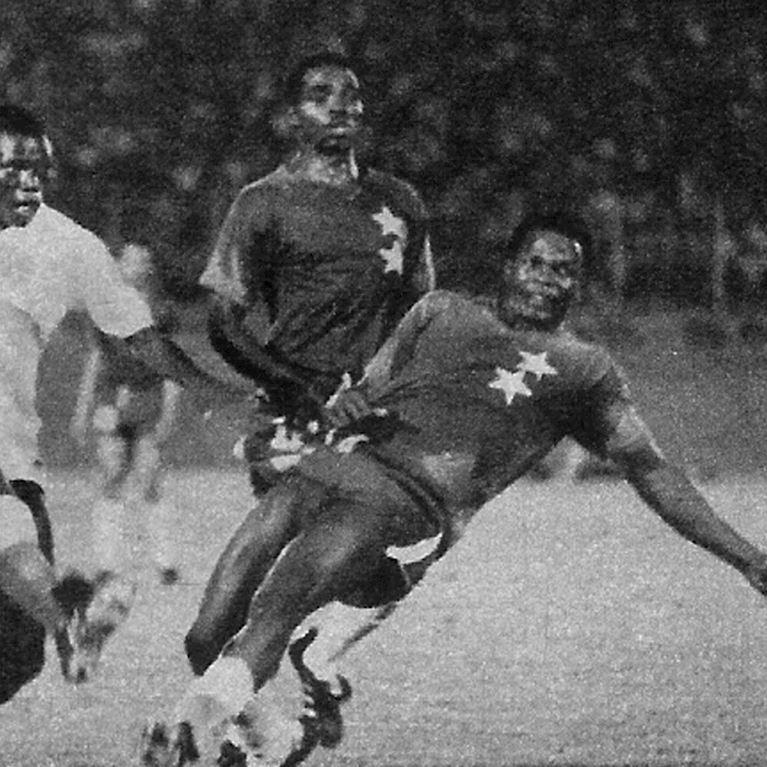 590 | Cameroon 1970's Short Sleeve Retro Football Shirt | 2 | COPA