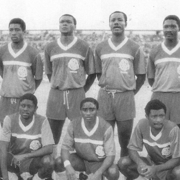 448 | Cameroon 1989 Short Sleeve Retro Football Shirt | 2 | COPA