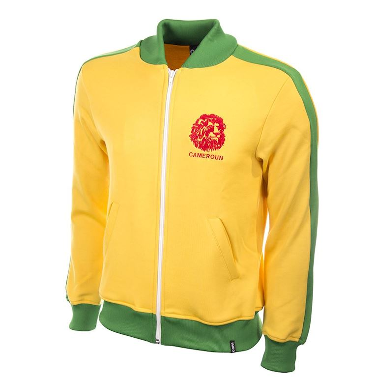 830 | Cameroon 1980's Retro Football Jacket  | 1 | COPA