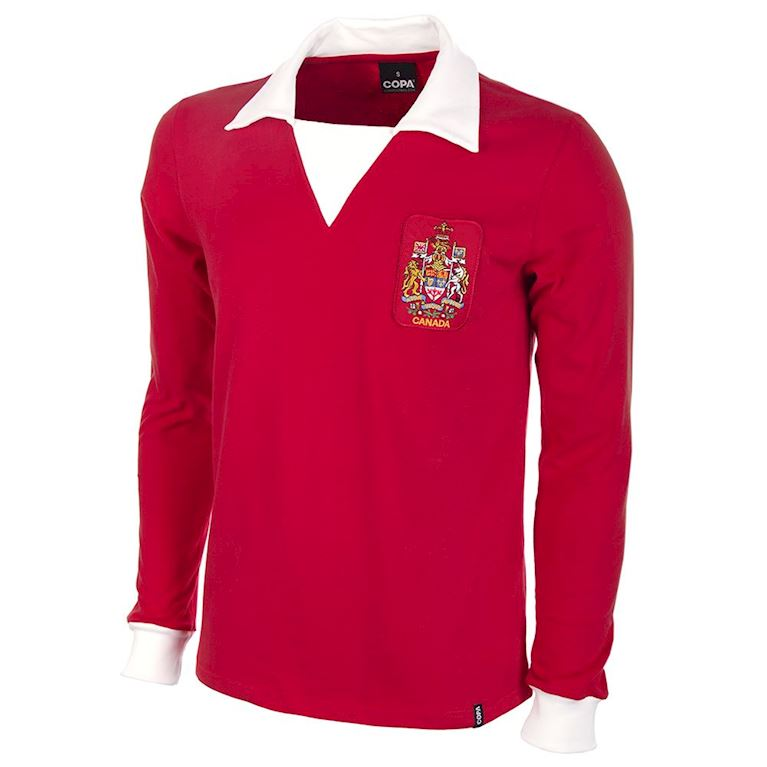 535 | Canada 1977 Long Sleeve Retro Football Shirt  | 1 | COPA