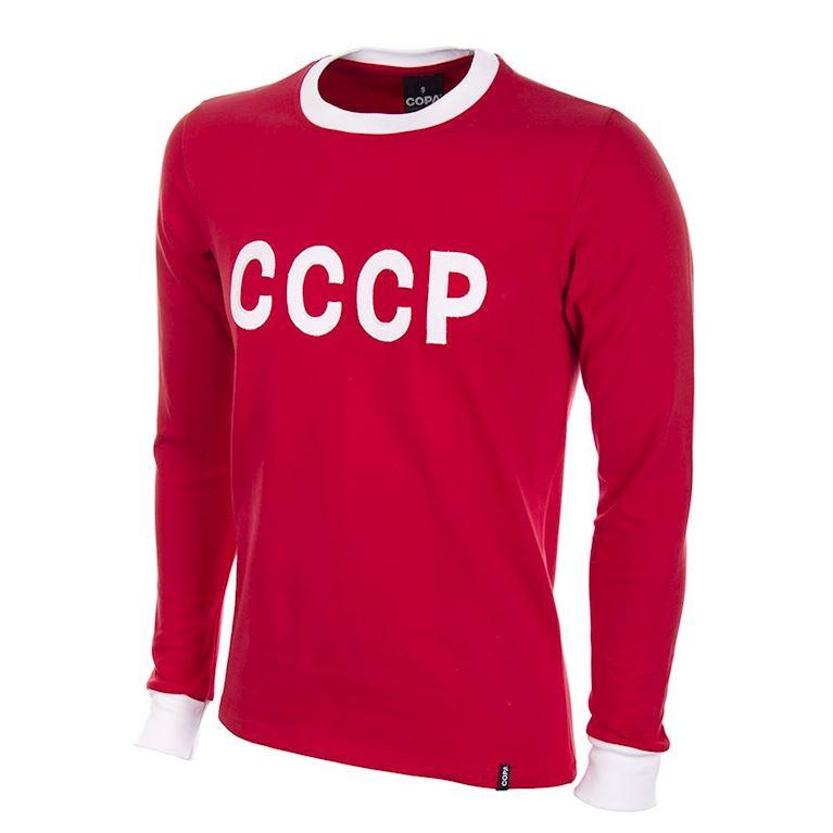 633 | CCCP 1970's Long Sleeve Retro Football Shirt | 1 | COPA