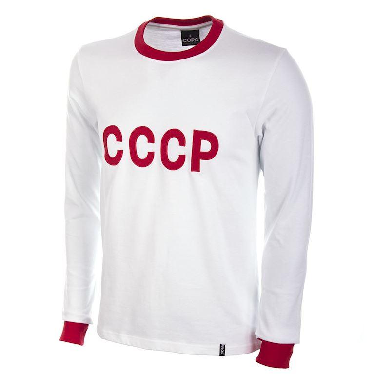 606 | CCCP Away 1970's Long Sleeve Retro Football Shirt | 1 | COPA