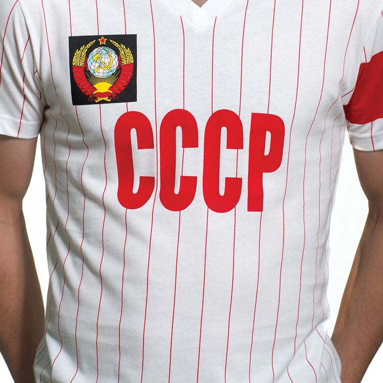 6653 | CCCP Captain V-Neck T-Shirt | White  | 2 | COPA