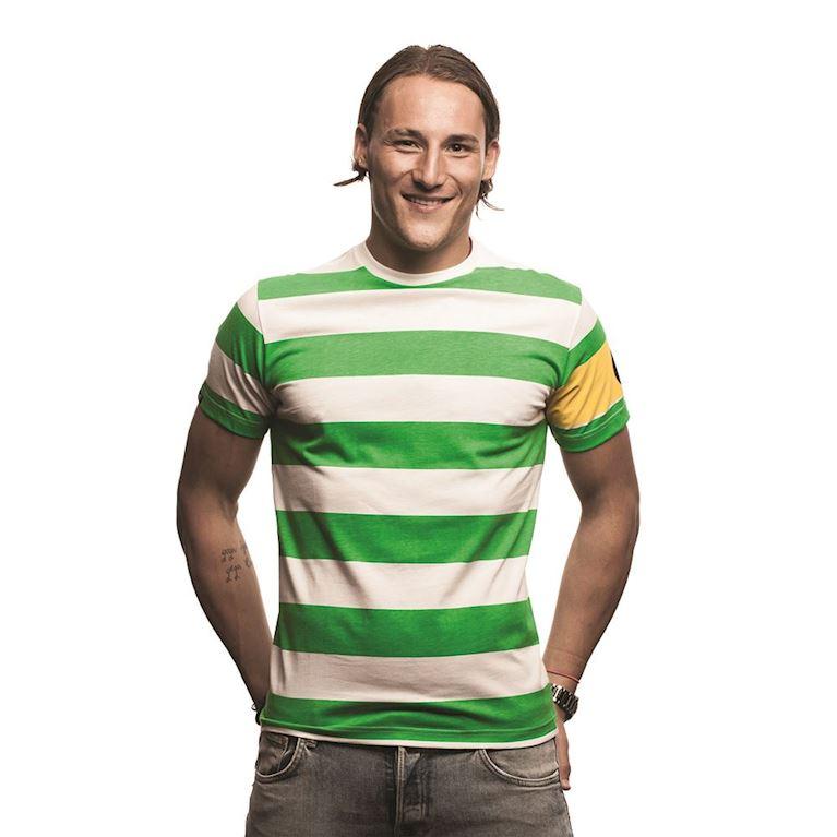 6635   Celtic Captain T-Shirt   Green - White   1   COPA