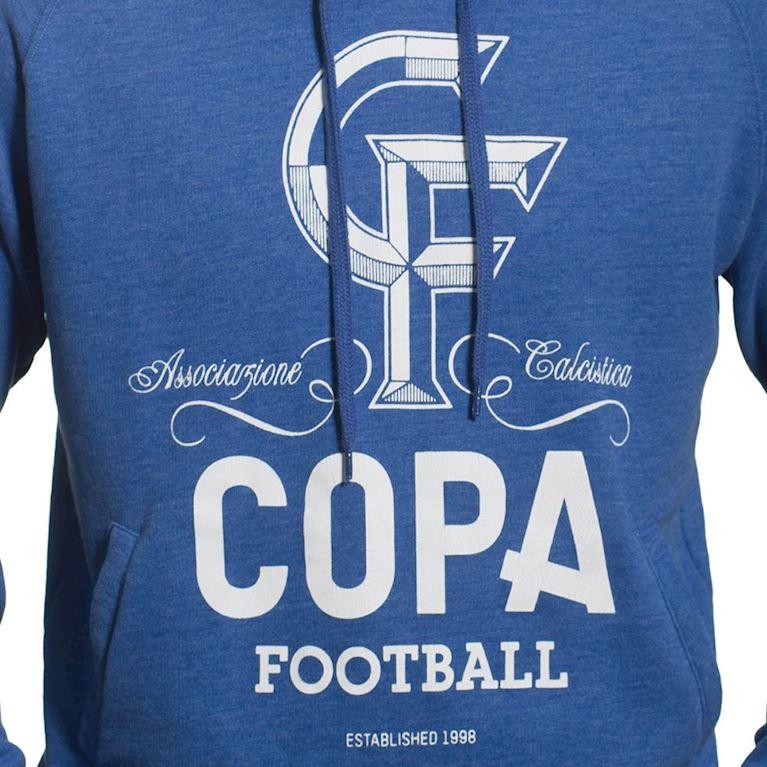 6444 | CF Hooded Sweater | Blue Mêlée | 2 | COPA