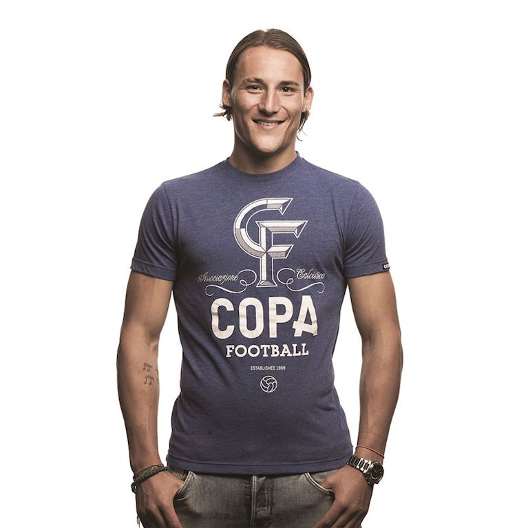 6640 | CF T-Shirt | Blue Mêlée | 1 | COPA