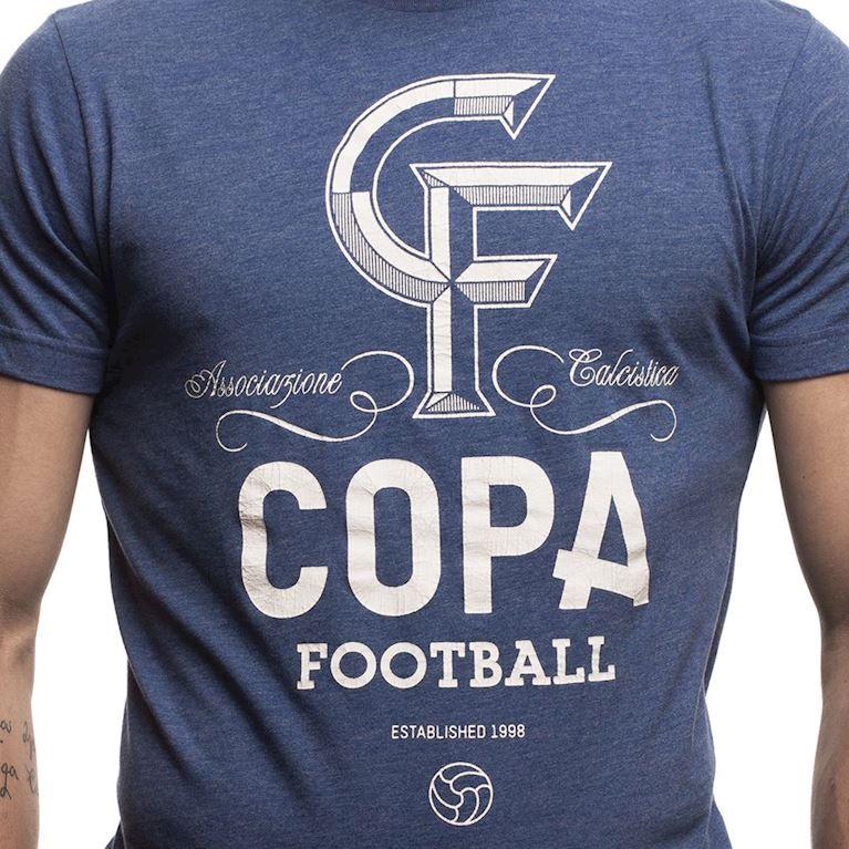 6640 | CF T-Shirt | Blue Mêlée | 2 | COPA