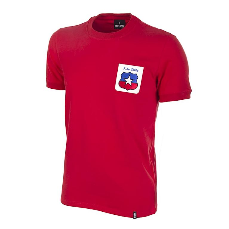 521 | Chile World Cup 1974 Short Sleeve Retro Football Shirt  | 1 | COPA