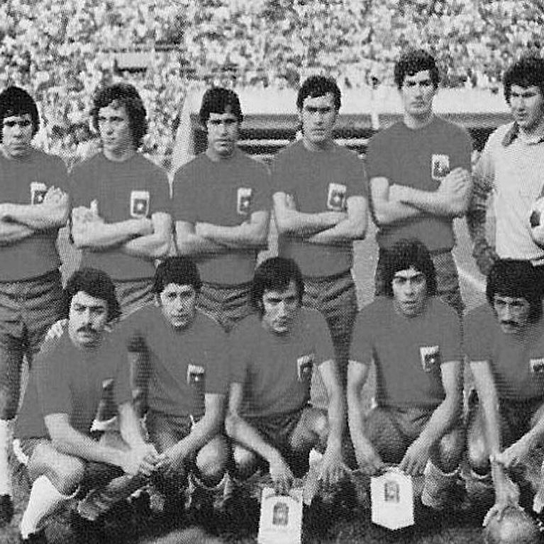 521 | Chile World Cup 1974 Short Sleeve Retro Football Shirt | 2 | COPA